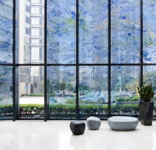 חיפוי מבנים מודפס על זכוכית  (1)