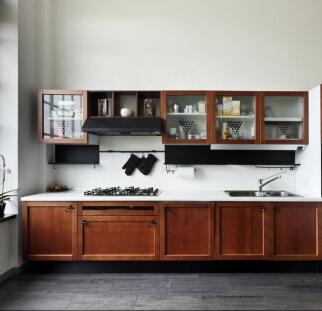 חיפוי מטבח מראה שיש- אבן  - זכוכית  (1)