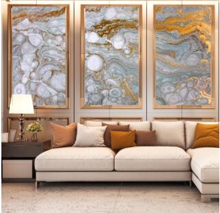 חיפוי קירות פנים זכוכית לסלון