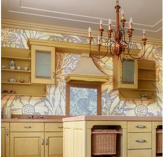 חיפוי קירות פנים לחדר המטבח