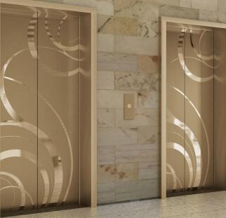 עיצוב דלת מעלית