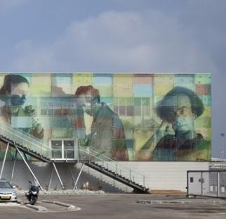 Knafo Klimor - Carmel Center Exteriori- Haifa. Photo by Amit Geron